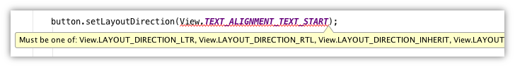 Lint showing error due to TypeDef annotation